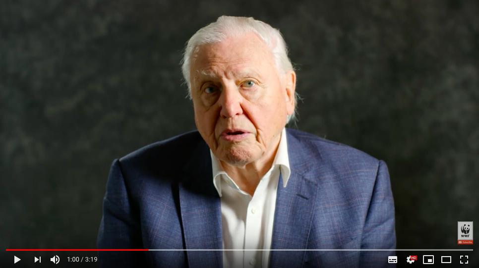 David Attenborough speaks to World Leaders